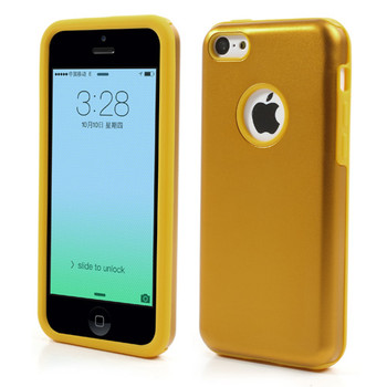iPhone 5C Case Gold
