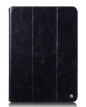 iPad Mini 3 2 Leather Smart Case Cover Black