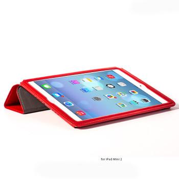 Hoco Armor iPad Mini 4 3 2 Leather Smart Cover Red