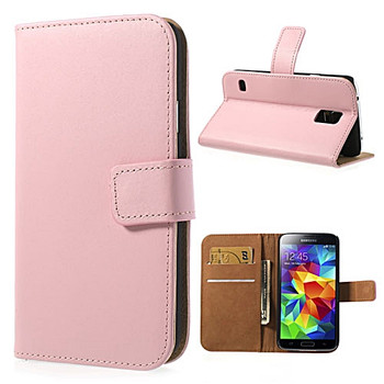 Samsung S5 phone wallet case pink