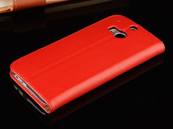 HTC one m8 phone leather case