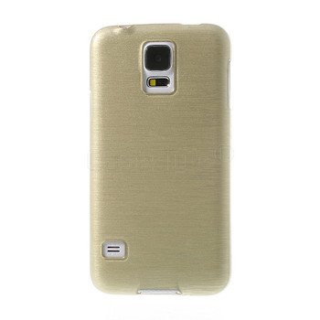 Samsung Galaxy S5|S5 NEO Silicone Skin Jacket Gold