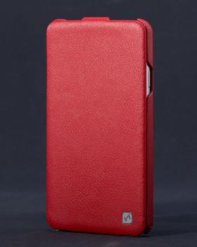 Samsung Galaxy Note 3 Genuine Leather Flip Case Red