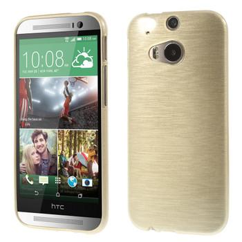 HTC one M8 skin gold
