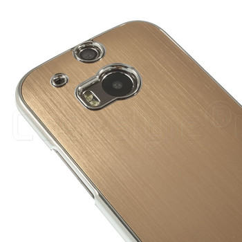 HTC One M8 Hard Cover Gold