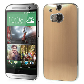 HTC one M8 gold cover