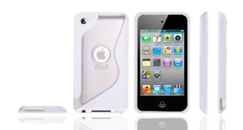 iPod Touch 4G S Design Gel Case White