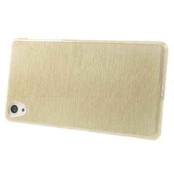 Sony Xperia Z2 Silicone Gel Skin Gold