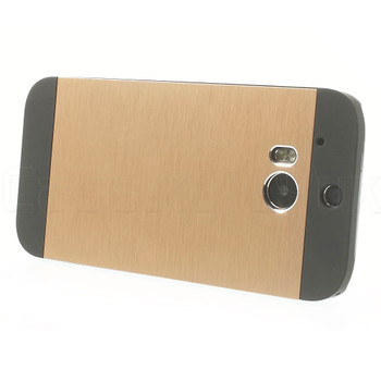 HTC One 2 M8 Back Cover Gold
