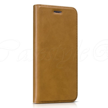 "Hoco iPhone 6/6S+""PLUS"" Leather Wallet Case Brown"