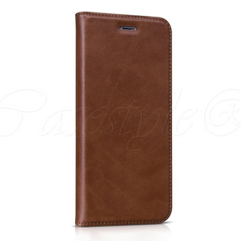 "Hoco iPhone 6/6S+""PLUS"" Leather Wallet Case Coffee"