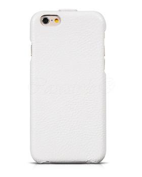 Hoco iPhone 6 6S Premium Leather Flip Case White
