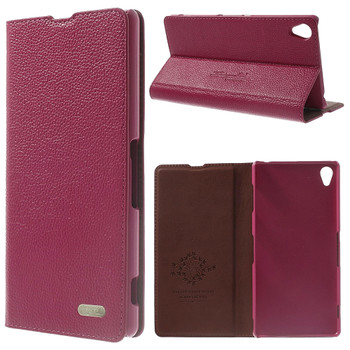 Sony Xperia Z3 Pink Leather