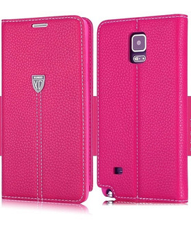 Samsung Note 4 Pink Leather