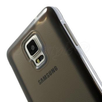 Samsung Galaxy Note 4 Bumper Case Black Back