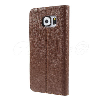 Samsung Galaxy S6 Genuine Leather Case Brown