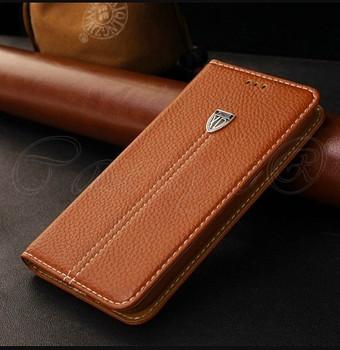 Samsung Galaxy S6 Premier Leather Case Brown