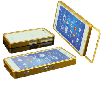 Sony Xperia Z3 Compact Bumper Case Gold