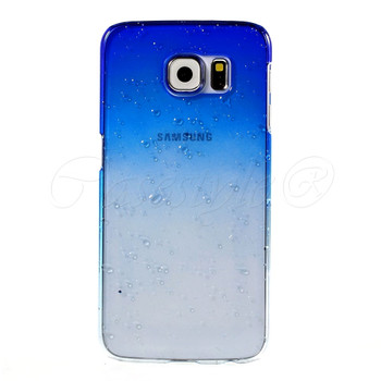 Samsung Galaxy S6 Cover Blue Clear