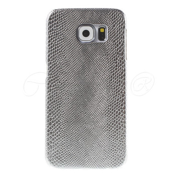 Samsung Galaxy S6 SnakeSkin Style Case Silver