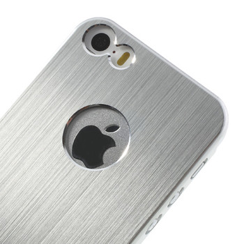 iPhone 5 5S Cover Silver
