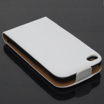iPod Touch 4 4th Leather Case White