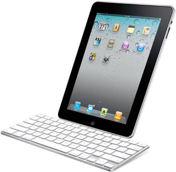 Bluetooth Ultra Slim Keyboard White for iPhone iPad