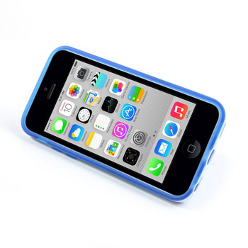 iPhone 5C Stand Case Blue