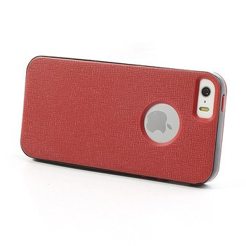 iPhone 5 5S Bumper Case Red Back Cover