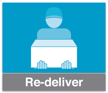 Order redelivery service
