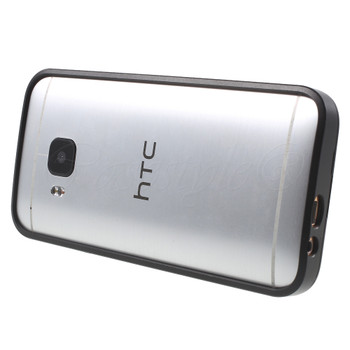 HTC One M9 Metal Bumper Case Black