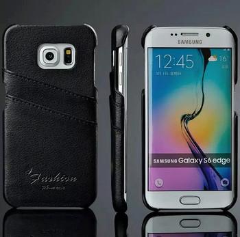 S6 Edge Leather Case