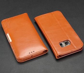 Samsung S6 Edge Case Brown
