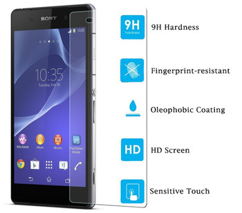 Sony Xperia Z2 Tempered Glass Front+Back