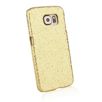 Samsung Galaxy S6 Glitter Case Gold
