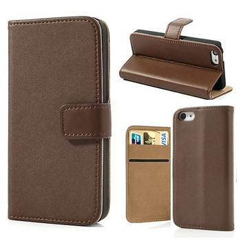 iPhone 5s Wallet Brown