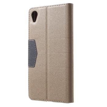 Sony Xperia Z5 Wallet Case Gold