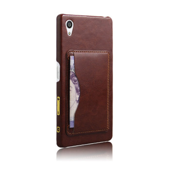 Sony Xperia Z5 Stand Case Brown