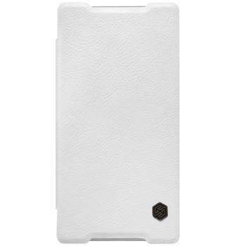 Nillkin Sony Xperia Z5 Qin Leather Case White