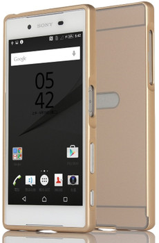 Sony Xperia Z5 Premium Bumper Case+Hard Back Gold