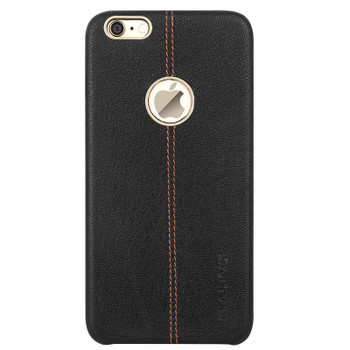 Qialino iPhone 6 6S Leather Back Cover Tuscany Black