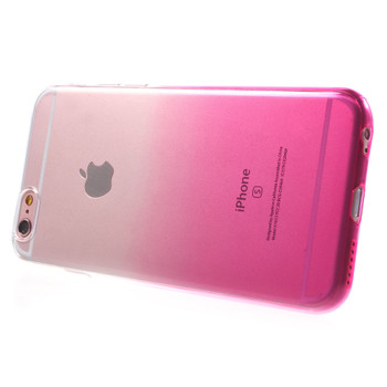 iPhone 6 6S Silicone Case Clear Pink