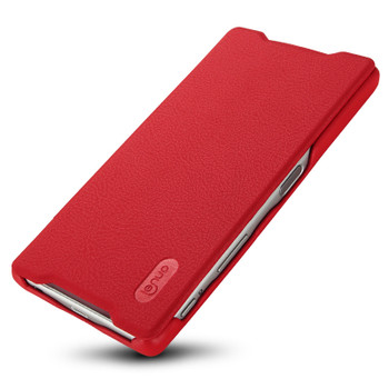 Sony Xperia Z5 Premium 4K Leather Slim Cover Red