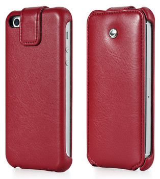 iPhone 5S Leather Flip Case