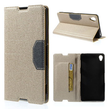 Sony Z3 Cover Gold