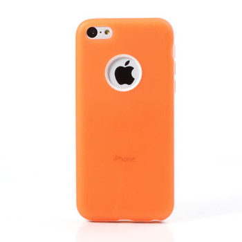 iPhone 5C Case Cover Orange