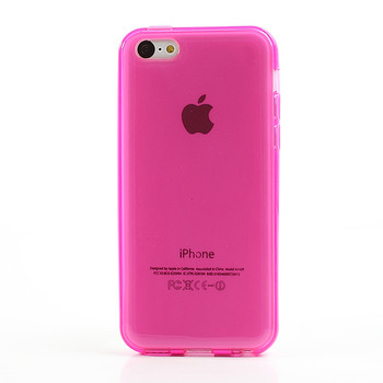 iPhone 5C Silicone Skin Pink