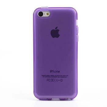 iPhone 5C Cover Case Purple