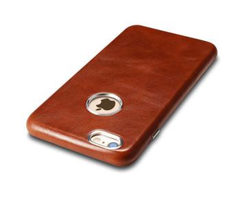 iCarer iPhone 6S 6 Vintage Leather Case Brown