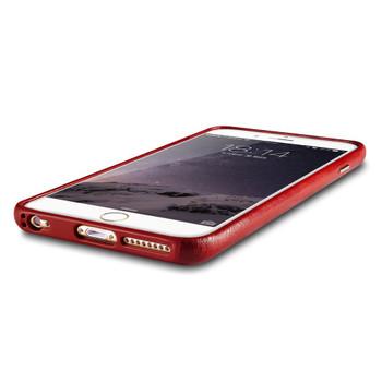 iCarer iPhone 6S 6 Vintage Leather Case Red